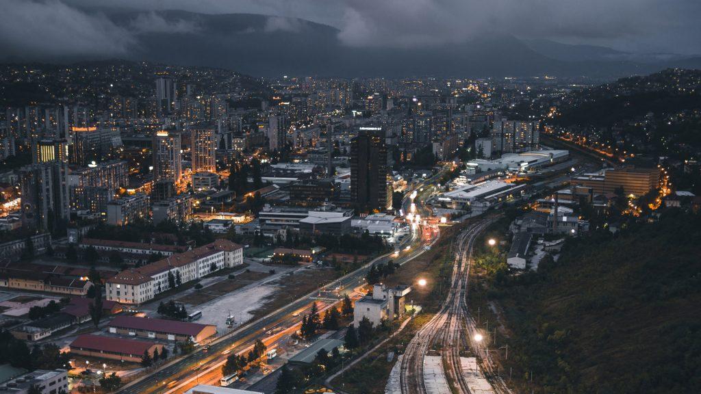 Красивые картинки городов и небоскребов на рабочий стол - подборка №2 4