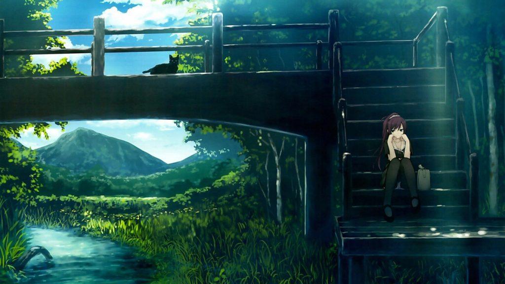 Крутые и классные аниме картинки на рабочий стол - подборка №4 7