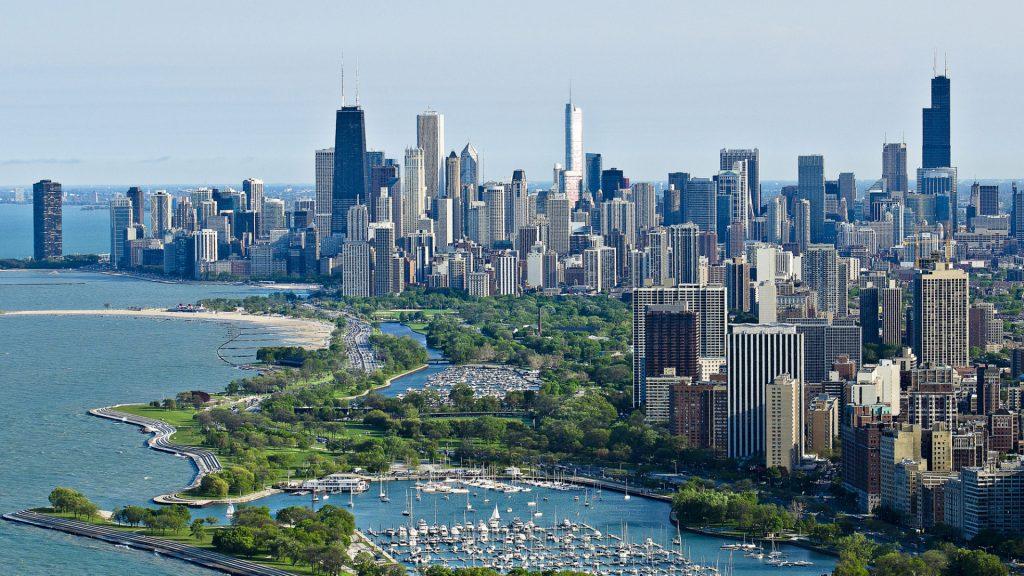 Невероятные фото городов и небоскребов на рабочий стол - подборка №3 4