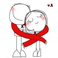 Прикольные и красивые рисунки для срисовки любовь - скачать онлайн 10