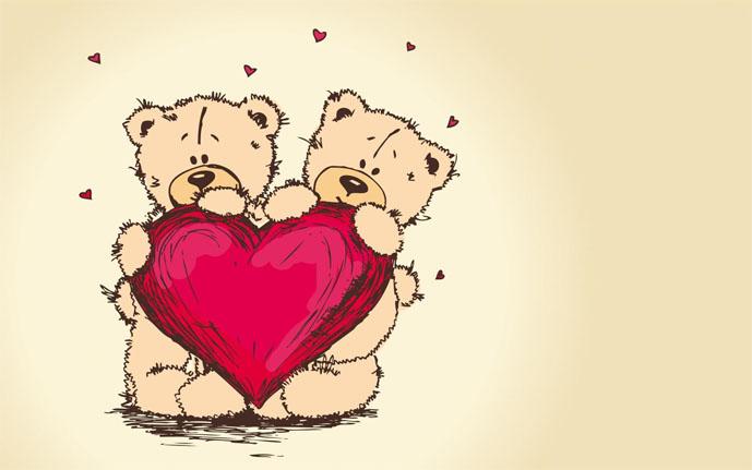 Прикольные и красивые рисунки для срисовки любовь - скачать онлайн 15
