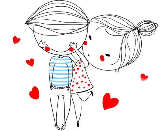 Прикольные и красивые рисунки для срисовки любовь - скачать онлайн 16