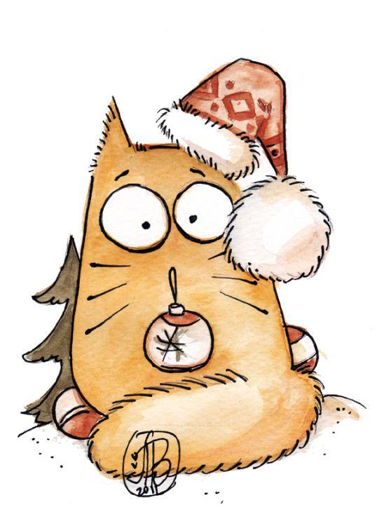 Рисунки котиков и кошек для срисовки - красивые и прикольные 1