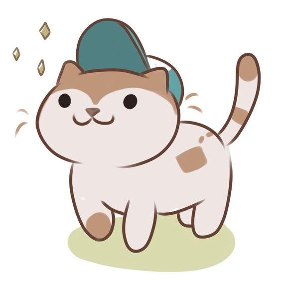 Рисунки котиков и кошек для срисовки - красивые и прикольные 15