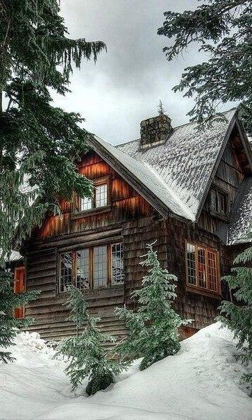 Скачать картинки про зиму и снег - самые красивые и прикольные 15