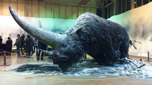 Elasmotherium - огромный волосатый единорог, который обитал на Земле 29 000 лет назад 6