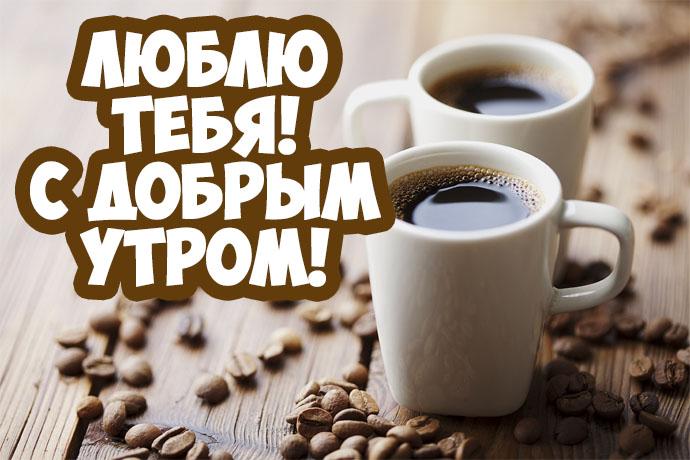 Доброе утро котик - самые красивые и приятные открытки, картинки 4