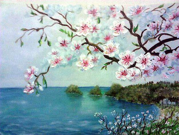 Картинки и рисунки для детей на тему Краски Весны - самые красивые 5