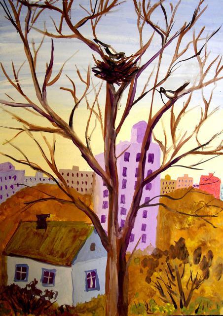 Картинки и рисунки для детей на тему Краски Весны - самые красивые 8