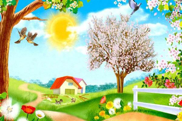 Картинки на тему Весна для детского сада - самые красивые и прикольные 5