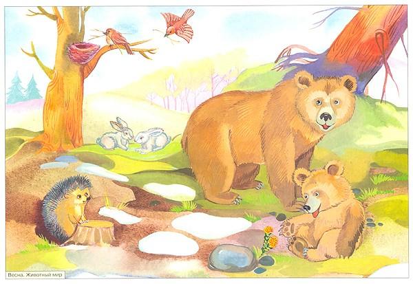 Картинки на тему Весна для детского сада - самые красивые и прикольные 7