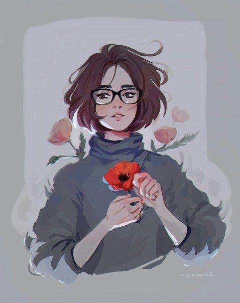 Красивые аниме картинки для срисовки - интересная коллекция №3 16