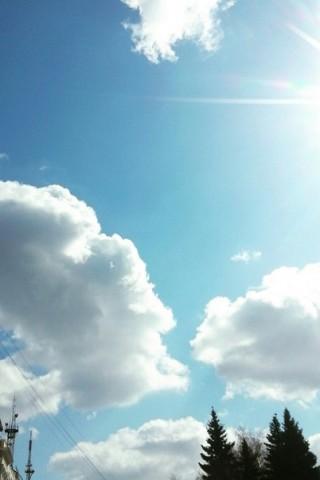 Скачать бесплатно картинки неба на телефон - самые красивые и крутые 8