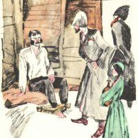 Сравнительная характеристика Жилина и Костылина - Кавказский пленник 1