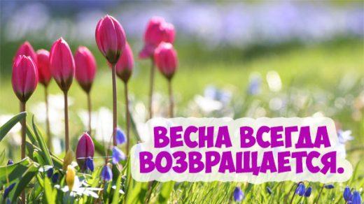 Красивые фразы и высказывания про весну - удивительная подборка 10