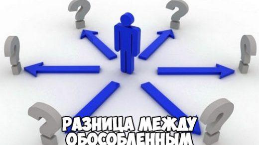 Разница между обособленным подразделением и филиалом - самое основное 1