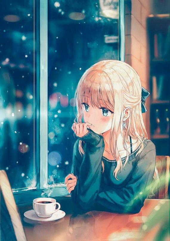 Скачать картинки аниме девушки - очень прикольные и красивые 9