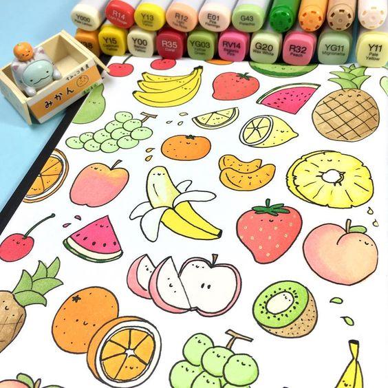 Картинки для срисовки в личный дневник девочки - самые красивые 1