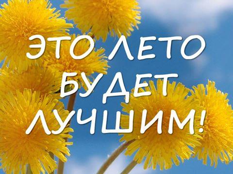 Картинки наступившего лета прикольные и красивые - подборка с текстом