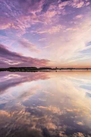 Картинки на телефон небо, облака, солнце - очень красивые и крутые 25