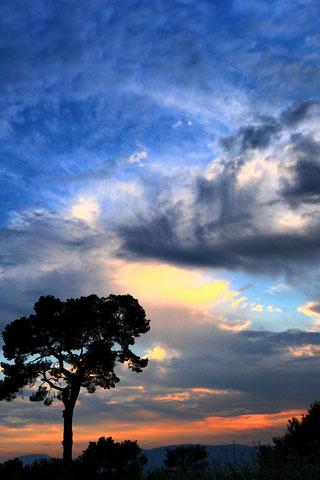 Картинки на телефон небо, облака, солнце - очень красивые и крутые 9