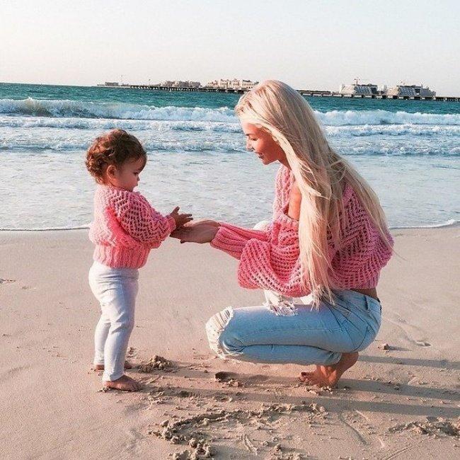 Красивые и прикольные картинки мама с ребенком - самые интересные 1
