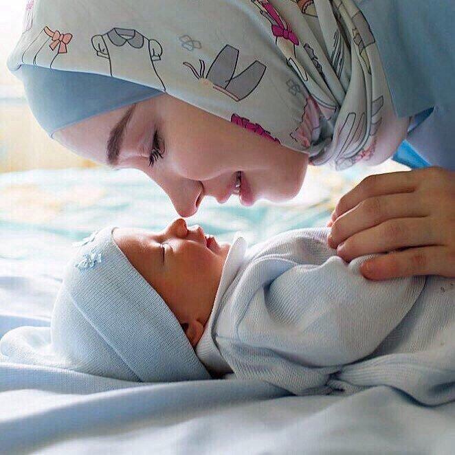 Красивые и прикольные картинки мама с ребенком - самые интересные 11