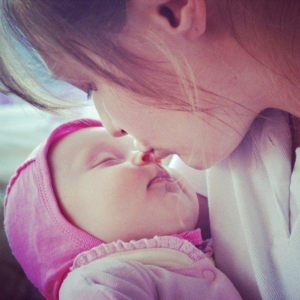 Красивые и прикольные картинки мама с ребенком - самые интересные 7