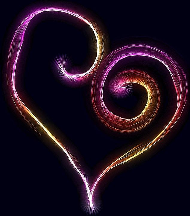 Красивые картинки сердце о любви - очень интересные и приятные 13