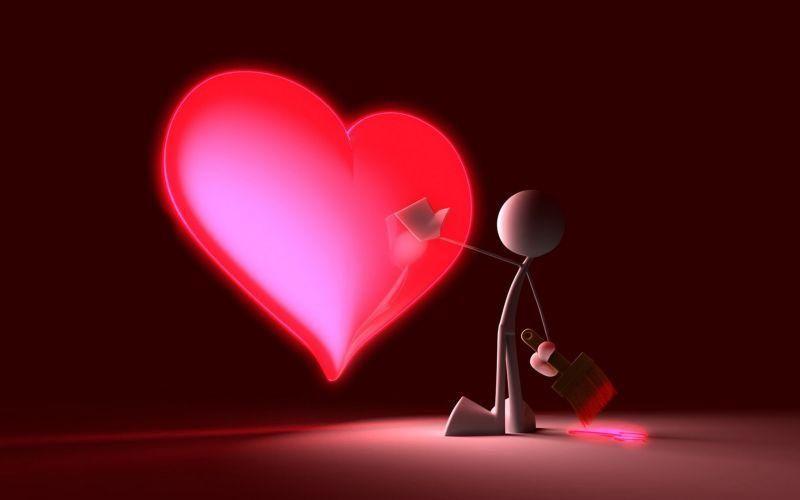 Красивые картинки сердце о любви - очень интересные и приятные 15