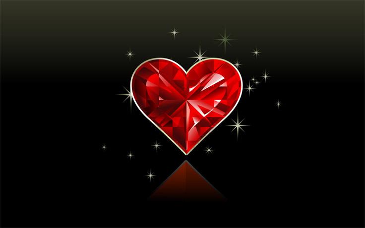 Красивые картинки сердце о любви - очень интересные и приятные 2