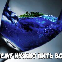 Почему нужно пить большее количество воды Основные причины 1