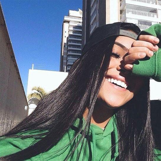 Прикольные и красивые картинки девушек в кепке на аву - сборка 11