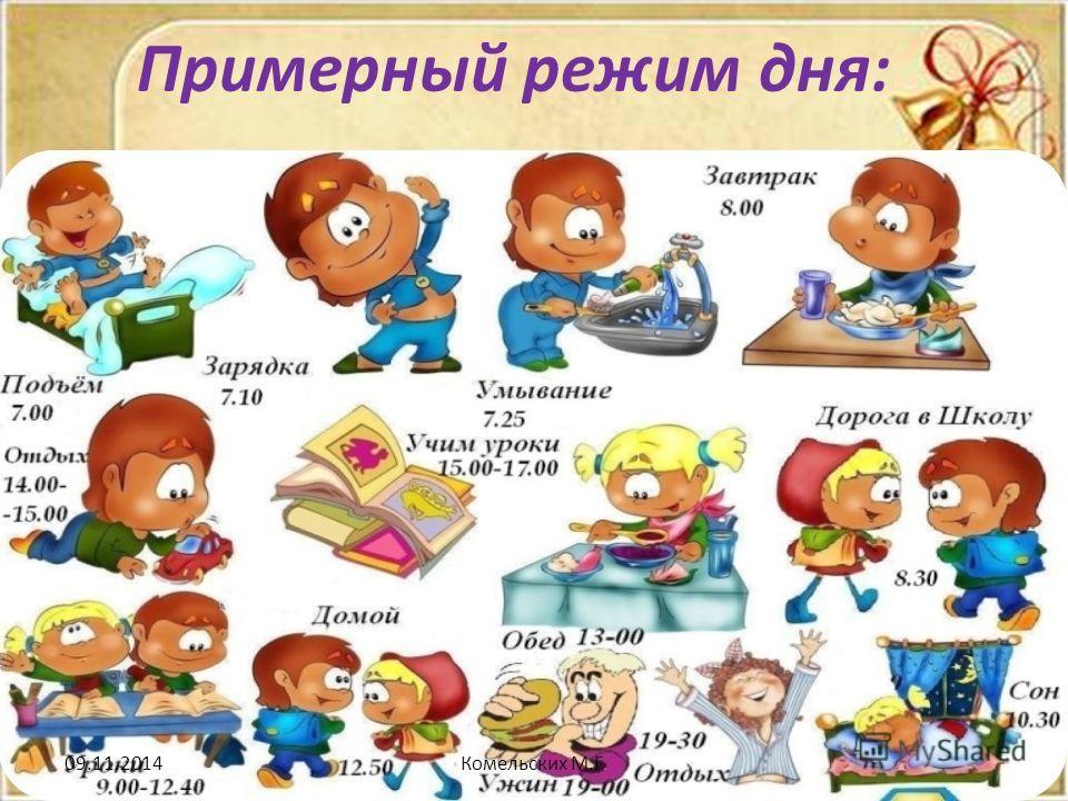 Режим дня - красивые картинки для детей для детского сада 9