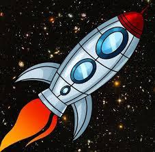 Рисунки для детей ко дню Космонавтики - самые красивые и прикольные 12