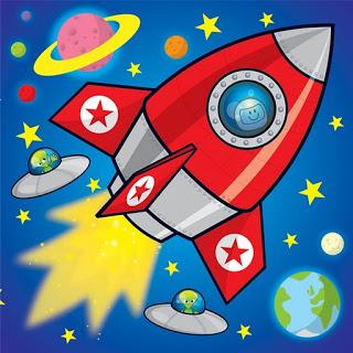 Рисунки для детей ко дню Космонавтики - самые красивые и прикольные 2