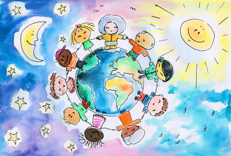 Скачать бесплатно Планета Земля картинки для детей - подборка 2