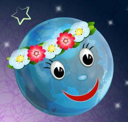 Скачать бесплатно Планета Земля картинки для детей - подборка 4