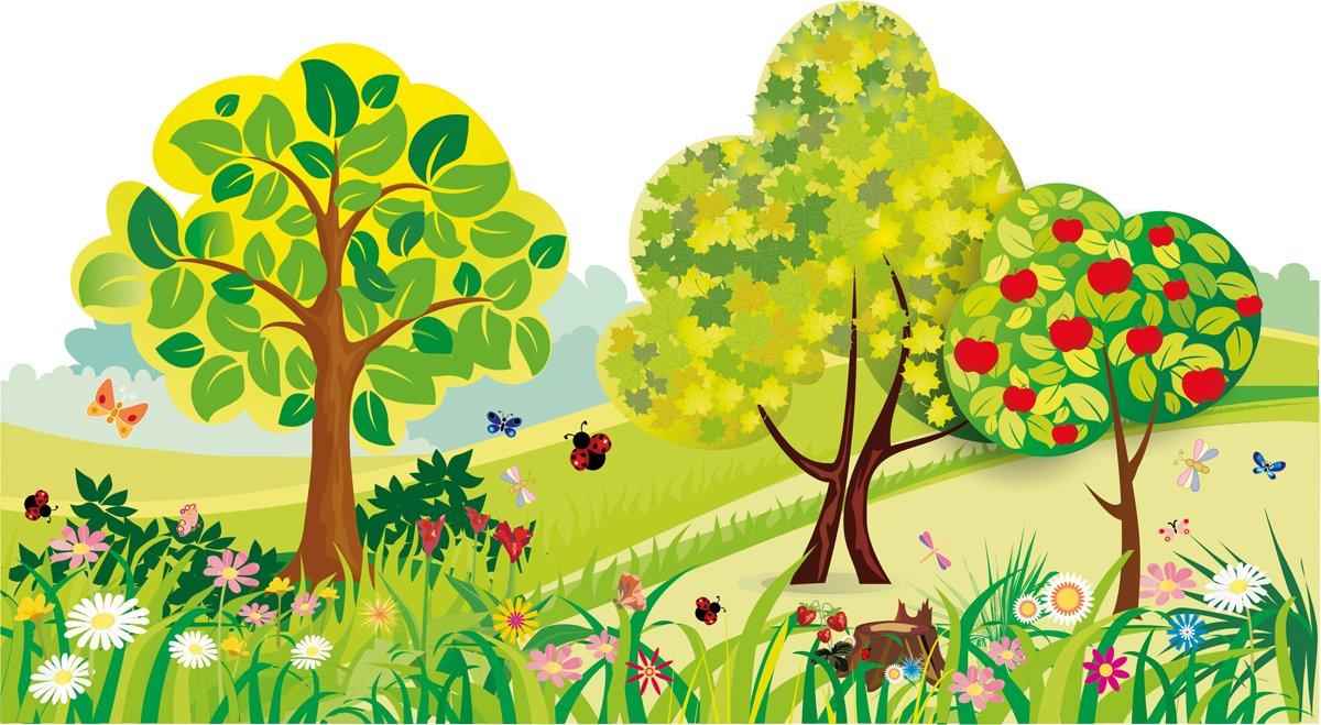 картинки с деревьями для доу наш