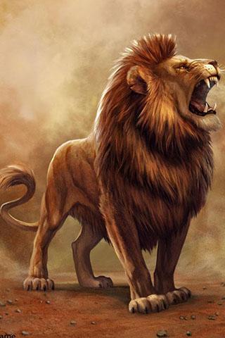 Скачать картинку лев на телефон на главный экран - лучшая сборка 13