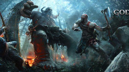 God of War обои на рабочий стол из игры - самые красивые и крутые 7