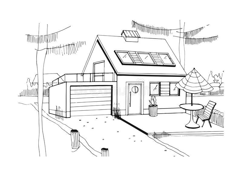 Домик и дом картинки нарисованные - красивые и прикольные 14