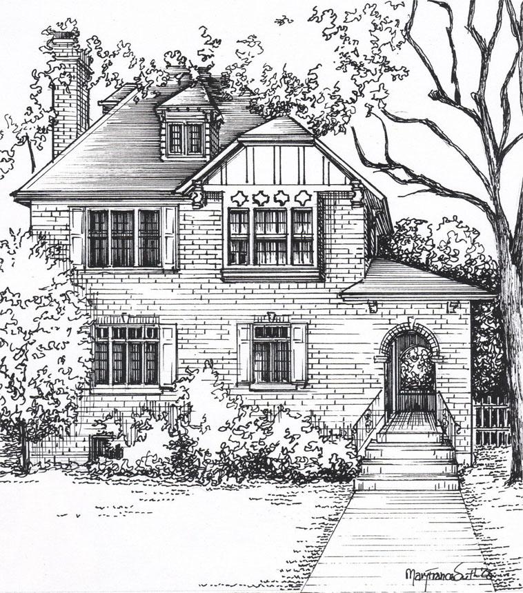 Домик и дом картинки нарисованные - красивые и прикольные 3