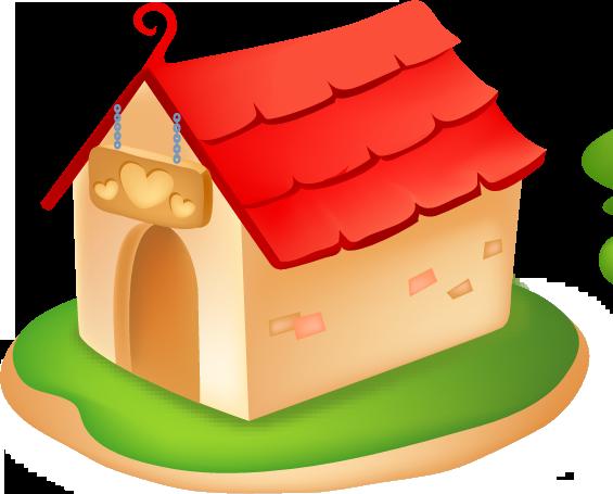 Дом, квартира, домик - красивые картинки для детей 1