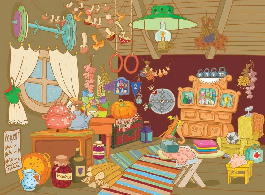 Дом, квартира, домик - красивые картинки для детей 11