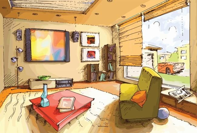 Дом, квартира, домик - красивые картинки для детей 12