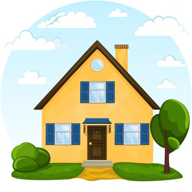 Дом, квартира, домик - красивые картинки для детей 22