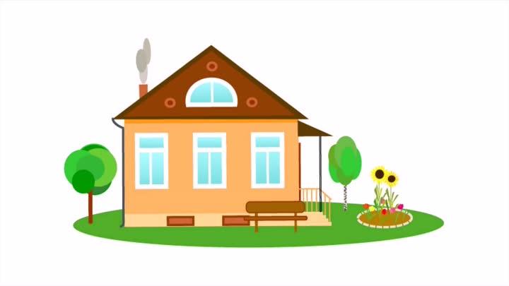 Дом, квартира, домик - красивые картинки для детей 4