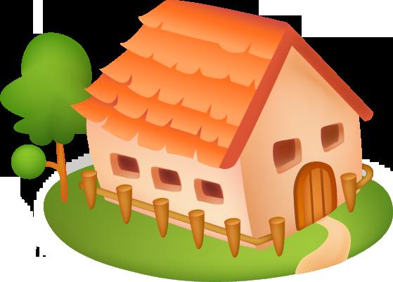 Дом, квартира, домик - красивые картинки для детей 8