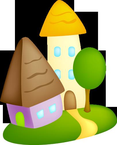 Дом, квартира, домик - красивые картинки для детей 9